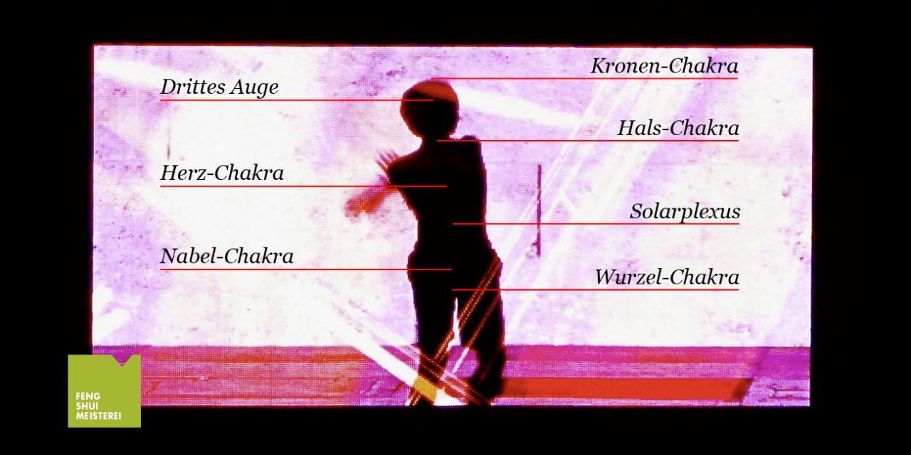 Neben den 7 Hauptchakren gibt es insgesamt 9 Chakren
