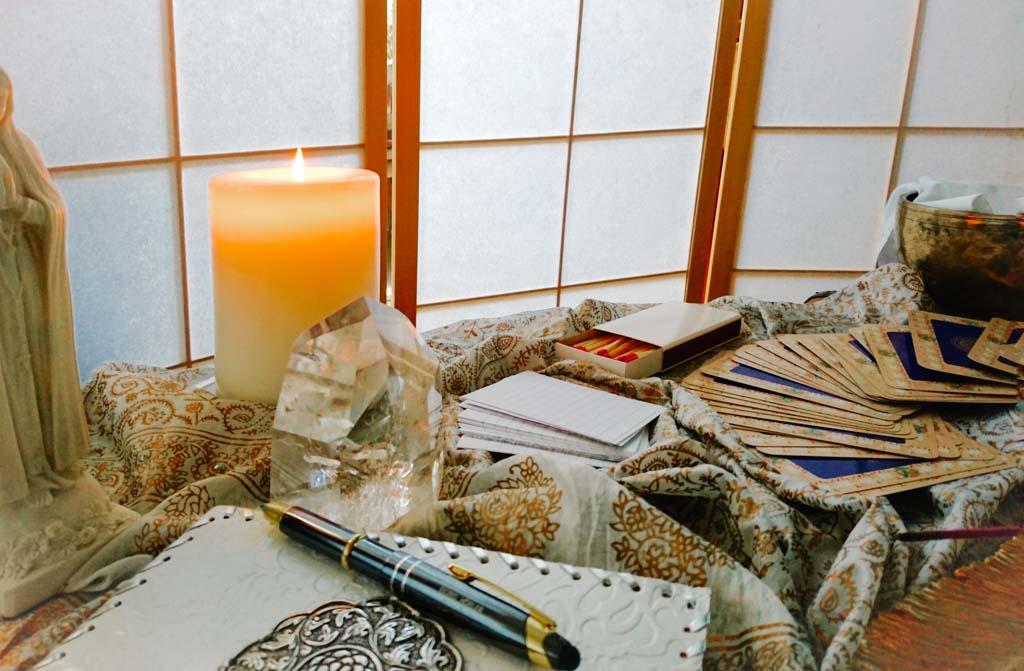 Der Meditationsplatz für die Rauhnächte ist ein wichtiger Ort