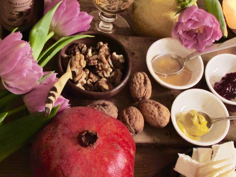 Die Zutaten zum leckeren Feng Shui Salatrezept